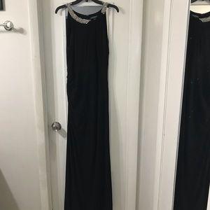 Ralph Lauren 14 black gown